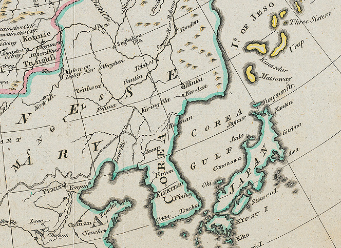 Corea Gulf - 1780