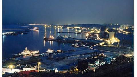 Beautiful East Sea, Mukho-port!