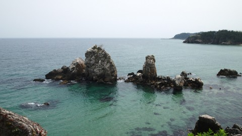 East Sea-Gangwondo-Chotdaebawi Rock