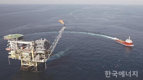 바다 위 동해 가스전서 전기 뽑아낸다